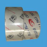 China BOPP film goods strapping high adhesive branded packaging tape of Acrylic Glue on sale