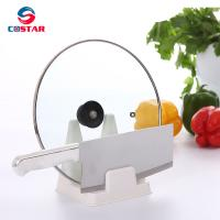 Buy cheap Plastic kitchen pot lid rack for lid cover and knife from wholesalers