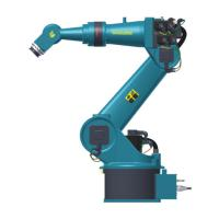 Quality Payload 80kg Industrial Robotic Arm , 6 Degree Material Handling Robot Arm for sale