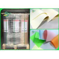 Quality 60 70 80gsm Woodfree Paper / Offset Paper FSC Cream Or Other Other Color In Roll for sale