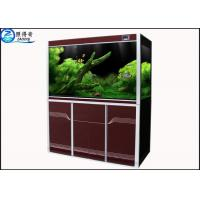 Quality Simple High-end Custom Aquarium Fish Tank , Automotive Float Glass Fish Aquarium Tanks for sale