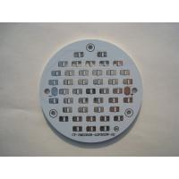 Quality White Round Single Layer Led PCB Board Fabrication / Customized PCB for sale