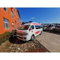 Buy cheap Ambulance trucks in sales for patient / special ambulance in stock light duty from wholesalers