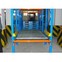 Quality storage systems golden supplier cold steel roll pallet gravity rack /Flow Pallet Racking for sale