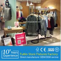 Quality Shop display system 4 Ways clothes hanging stand for sale