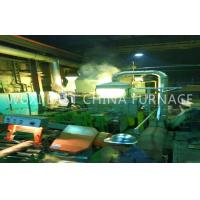 China Bronze Plate Strip Pipe Rod Horizontal Continue Casting Machine 2 Double Strand on sale