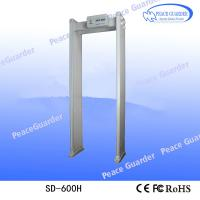 Buy SD-600H Multi-zones Chinese security Body Temperature Scanner door frame metal detector price for sale at wholesale prices