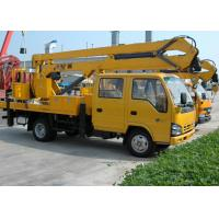 China Durable Rotary Platform Truck Mounted Lift For Construction Needs on sale