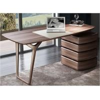 Quality American Dark Walnut Wood Furniture Nordic design of Writing Desk Reading table in Home Study room Office Furniture for sale