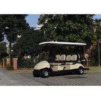 Quality Custom Lifted Club Car 6 Passenger Golf Cart With 48V Battery Operated for sale
