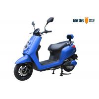 Quality LCD Meter Moped Electric Scooter For Girls Double Alarm / Remote for sale
