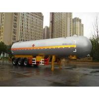 Quality Macro -chou 13 m 24.5 tons of liquefied gas transport trailer 3 axle HZZ9407GYQ for sale