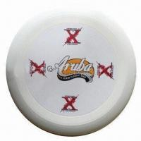 Quality Plastic Flying Disc, Measures 9x1/2 Inches for sale