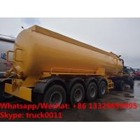 Quality 2019s cheaper price CLW brand 4 axles 30cbm vacuum tank trailer customized for Venezuela, sludge tank trailer for sale
