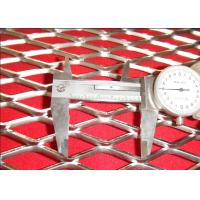 Quality CE 1.2mm Strand Flat Expanded Stainless Steel Mesh Anti - Skid Surface for sale