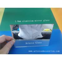 Buy 1.8mm clear aluminum mirror glass, clear aluminum mirror float glass,clear aluminum mirror at wholesale prices