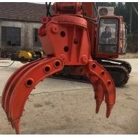 Quality Medium Hydraulic Grapple Equipment with Bucket teeth 21.5Mpa Voltage for sale