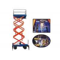 Quality 300KG Capacity Electric Hydraulic Mobile Scissor Lift 11M Lifting Height for sale