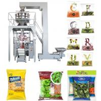 Quality PLC Control Automated Packing Machine / Vertical Form Fill Seal Packaging Machine Speed 5 - 60 Bags / Min for sale