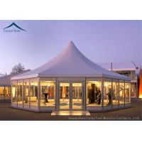Quality Multi-Sided Party Tents With Glass Wall for sale