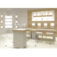 Quality Easy Install Modern Jewelry Display Cases Custom Logo For Retail Shop for sale