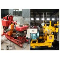 China Diesel Engine Hydraulic 200m Depth Soil Test Drilling Machine for Construction Usage on sale