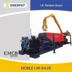 Quality Hydraulic scrap car baler press machine for sale for sale