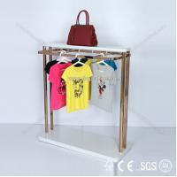 Quality Eco material paper t shirt display,garment display rack,cloth display for sale
