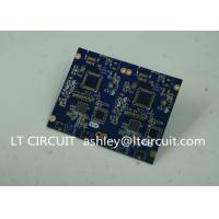 Quality Blue Soldering Impedance Controlled PCB Multilayer FR4 for Controller for sale