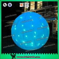 Quality Factory Directly Supply 2m LED Lighting Inflatable Ball For Event Party Decoration for sale