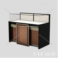 Quality Lockable Acrylic Jewelry Showcase, Lucite Jewellery Display Case, Custom Acrylic Cabinet for sale