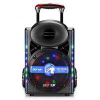 Buy Led Lights Outdoor Portable Speaker System With Bluetooth And Microphone at wholesale prices