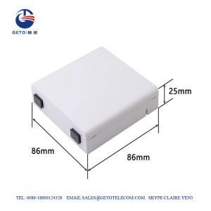 Quality Sc / APC FTTH Fiber Terminal Box , IP65 Fiber Optic Distribution Box for sale