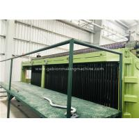 Quality Zinc / PVC Wire Coating Machine , Wire Mesh Fence Machine With Automatic Oil System for sale
