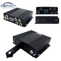 Quality 4 Channel Vehicle WI-FI Video / Audio SD Card DVR Camera System with Bus Router for sale
