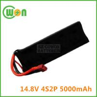 China 14.8V 4S2P 5000mAh Battery for Remote Control Battery, Car/Gun Toy Battery on sale