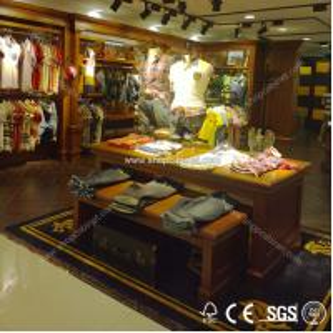 Quality Metal clothes shelf/display shelf/metal rack for sale