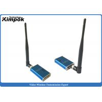 Buy Mini FPV Wireless AV Transmitter 1200Mhz Analog Wireless Video Sender LOS 100km at wholesale prices