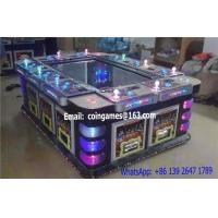 Quality 10 Players Amusement Arcade Coin Operated Hunter Shooting Fishing Cabinet Gambling Game Machine for sale
