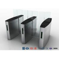 Quality Stainless Steel Access Control Turnstiles , Sliding Turnstile Security Systems for sale