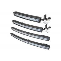 Quality 288W 50 Inch 4D Car Curved LED Light Bar Double Row 3000LM - 30000LM for sale