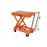 Quality High Efficiency  Mobile Scissor Lift Table Equipment  , 150Kg - 1000Kg Capacity for sale
