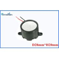 Quality Mini Wire Magnetic Buzzer Speaker 28mm 85dB Built-in Drive Circuit  for Security Products for sale