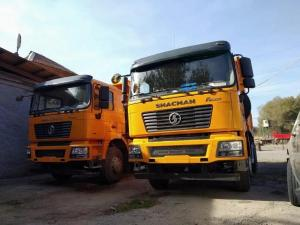 Quality 25ton 336HP 4 Wheel Drive Dump Truck SX3258DR384 With 9.726L Displacement for sale