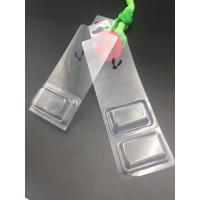 Quality Decorative plastic blister packaging PVC material with hanger for sale