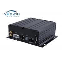 Quality New 4 channels 1080P HDD Mobile DVR + HDD / SD card + 4G GPS WIFI module for sale