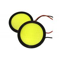 Quality 75mm 65mm Round LED Daytime Running Lights Professional COB DRL Lights IP67 for sale