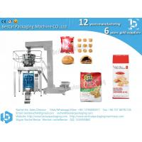 China Full automatic grain snack biscuit packing machine with weigher and Z elevator on sale