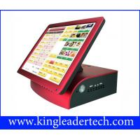 Quality Compact 15  Black Pos Touch Terminal For Restaurant , Bar , Pub , Nightclub for sale