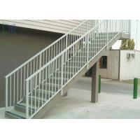 Residential Outdoor Stair Handrail Wall Grounded Mounted